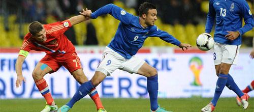 Отборочный матч ЧМ-2014: Россия - Азербайджан