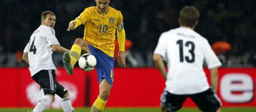 Отборочный матч ЧМ-2014: Швеция - Германия