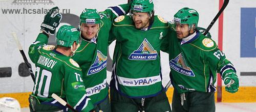 Чемпионат КХЛ: Салават Юлаев - Спартак
