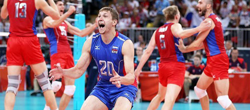 Кубок Чемпионов, мужчины: Россия - Иран