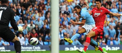 Английская Премьер-Лига: Саутгемптон - Манчестер Сити