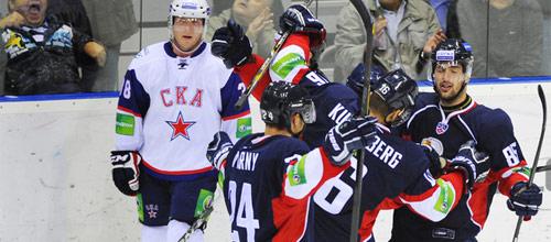 Чемпионат КХЛ: Слован - СКА