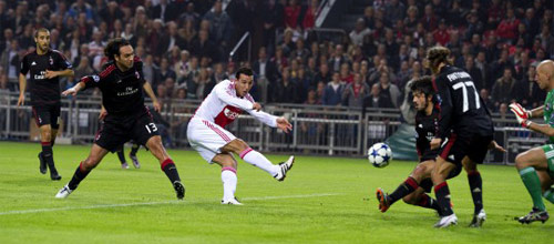 Лига Чемпионов: Милан - Аякс