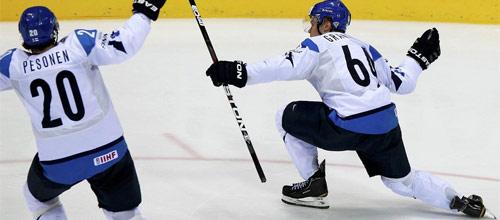 Олимпиада в Сочи: Финляндия - Канада