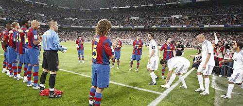 Чемпионат Испании: Реал Мадрид - Барселона