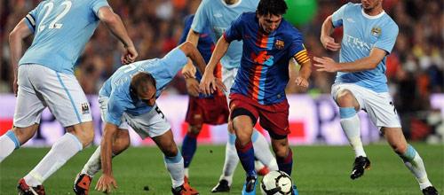 Лига Чемпионов: Барселона - Манчестер Сити