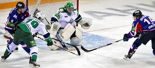 Чемпионат КХЛ: Металлург - Салават Юлаев