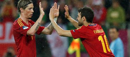 Международные товарищеские матчи: Испания - Боливия