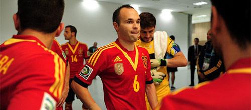 Чемпионат мира 2014: Испания - Нидерланды