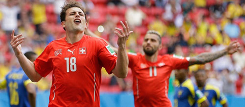 Чемпионат мира 2014: Швейцария - Франция
