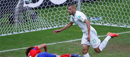 Чемпионат мира в Бразилии 2014: Алжир - Россия