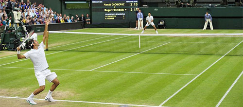 ATP, Уимблдон, Лондон, финал: Джокович - Федерер