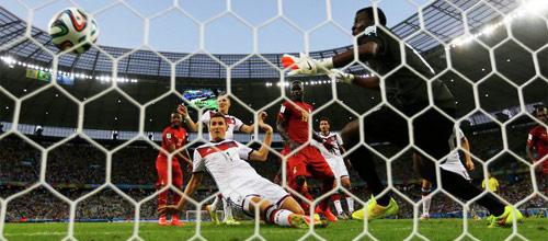 Чемпионат мира 2014: Франция - Германия