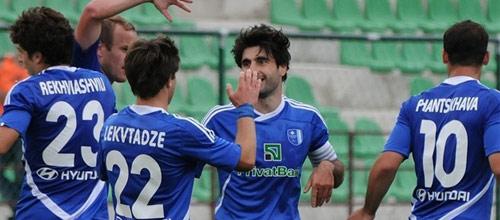 Лига Чемпионов, квалификация: Динамо Тбилиси - Актобе