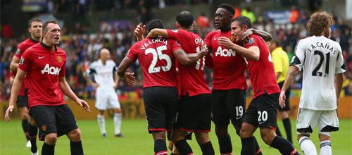 Английская Премьер-Лига: Манчестер Юнайтед - Суонси