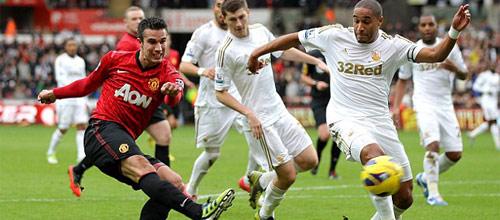 Чемпионат Англии: Манчестер Юнайтед - Суонси