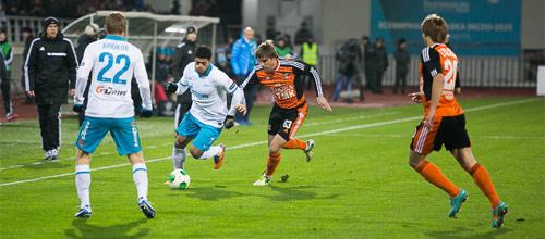 Российская Премьер-Лига: Урал - Зенит