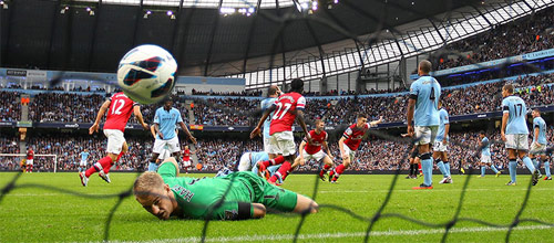 Суперкубок Англии: Арсенал - Манчестер Сити