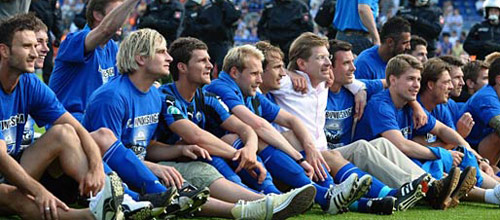 Чемпионат Германии: Падерборн - Боруссия М