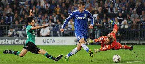 Лига Чемпионов: Челси - Шальке-04