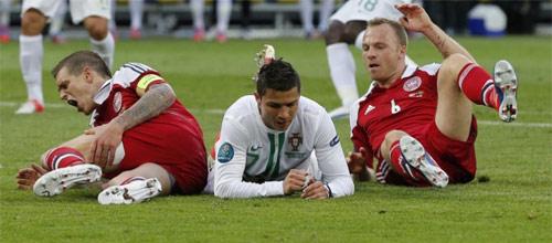 Евро-2016, квалификация: Дания - Португалия