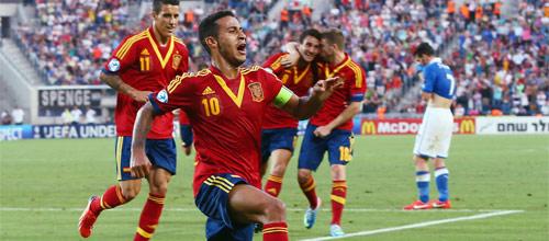 Молодёжный Чемпионат Европы: Сербия U-21 - Испания U-21