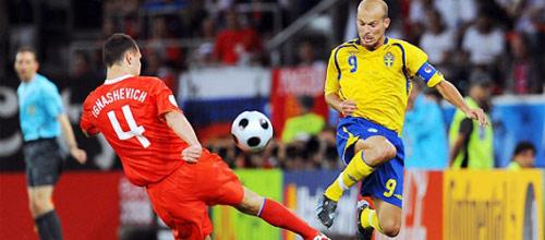 Отборочный матч Евро 2016: Швеция - Россия