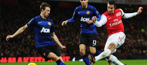 Английская Премьер-Лига: Арсенал - Манчестер Юнайтед