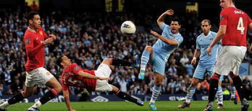 Чемпионат Англии: Манчестер Сити - Манчестер Юнайтед