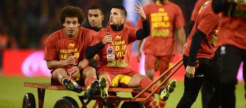 Чемпионат Европы, квалификация: Бельгия - Уэльс