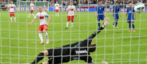 Чемпионат Европы, квалификация: Грузия - Польша