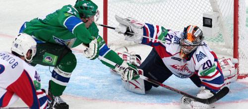 Чемпионат КХЛ: Металлург Магнитогорск - Салават Юлаев