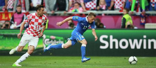 Отбор к Евро-2016: Италия - Хорватия