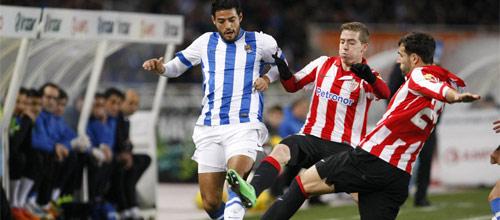 Чемпионат Испании: Реал Сосьедад - Атлетик Бильбао