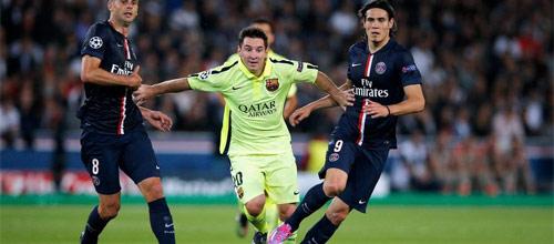 Лига Чемпионов: Барселона - ПСЖ