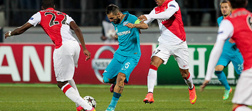 Лига Чемпионов: Монако - Зенит