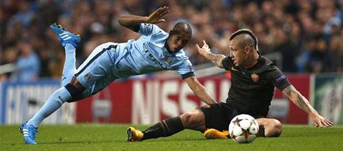 Лига Чемпионов: Рома - Манчестер Сити