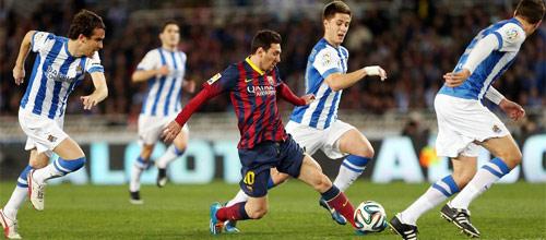 Чемпионат Испании: Реал Сосьедад - Барселона