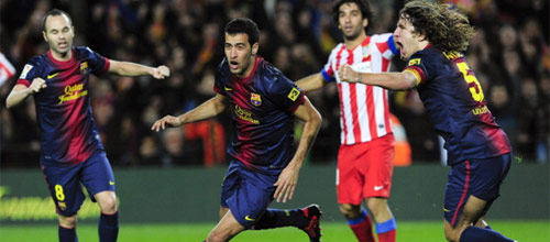 Кубок Испании: Атлетико - Барселона
