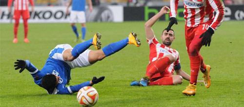 Лига Европы: Олимпиакос - Днепр
