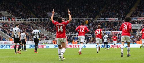 Англия, Премьер-Лига: Ньюкасл - Манчестер Юнайтед