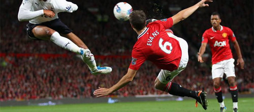 Чемпионат Англии: Манчестер Юнайтед - Тоттенхэм Лондон