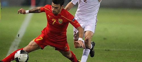 Чемпионат Европы, квалификация: Македония - Белоруссия