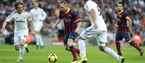 Чемпионат Испании: Барселона - Реал Мадрид