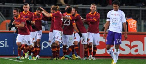 Лига Европы: Фиорентина - Рома