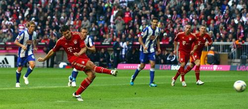 Чемпионат Германии: Бавария - Герта
