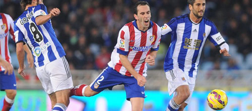 Чемпионат Испании: Атлетико Мадрид - Реал-Сосьедад