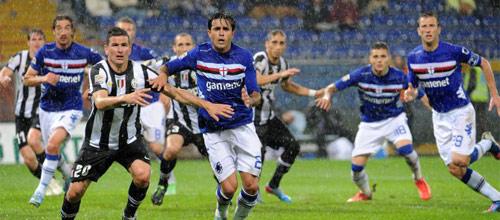 Италия, Серия А: Сампдория - Ювентус