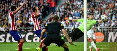 Лига Чемпионов: Реал - Атлетико Мадрид
