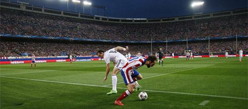Лига Чемпионов УЕФА, 1/4 финала: Реал Мадрид - Атлетико